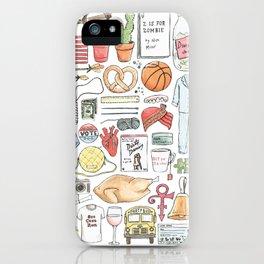 New Girl iPhone Case