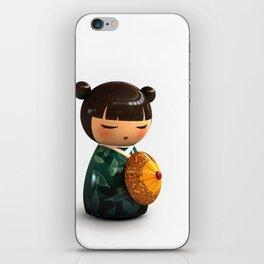 Kokeshi 01 iPhone Skin