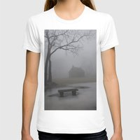 fog T-shirts featuring Fog  by ShannPhoto15