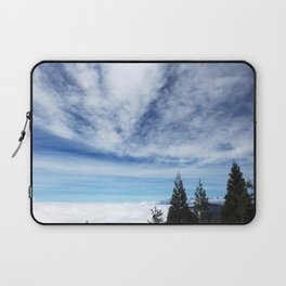 Cloudy Day in Lake Arrowhead Laptop Sleeve