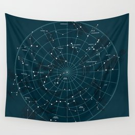 Space Hangout Wall Tapestry