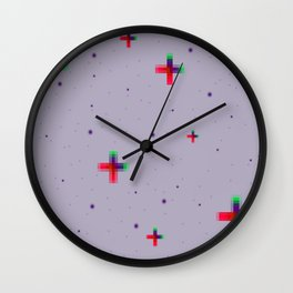 Pixel Stars Wall Clock
