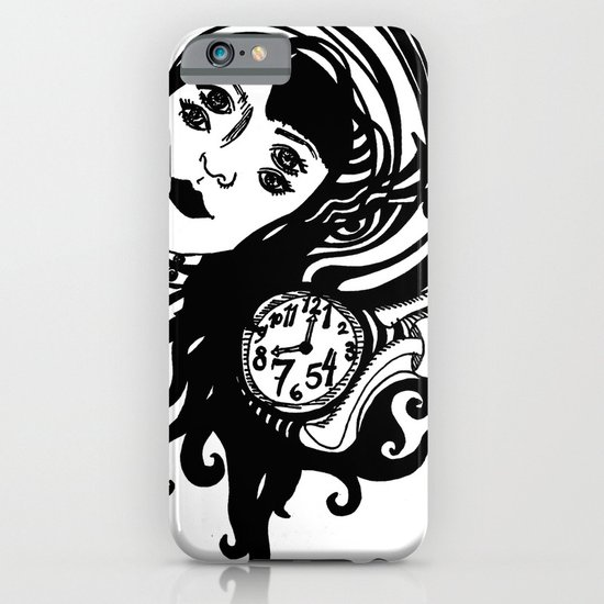 Alice down the Rabbit Hole iPhone & iPod Case