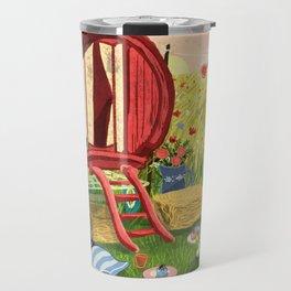 Gypsy Caravan at Sunset Travel Mug