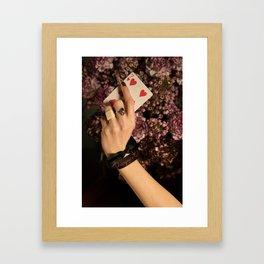 Champagne? Framed Art Print