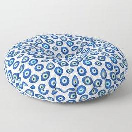 Evil Eye Talisman Floor Pillow