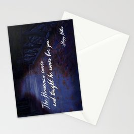 The Horseman comes for you... Stationery Cards