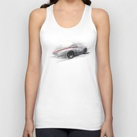 racing Tank Tops featuring racing car by tatiana-teni