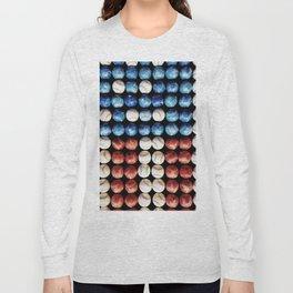 Colorful baseball Long Sleeve T-shirt