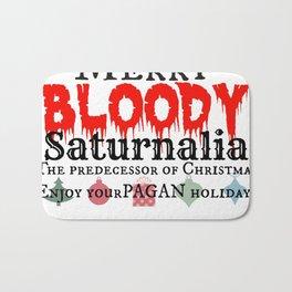 Merry Bloody Saturnalia aka: Christmas Bath Mat