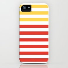 POPPY STRIPES Slim Case iPhone (5, 5s)