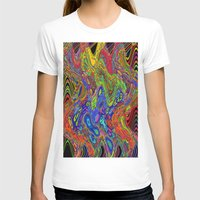 psychedelic T-shirts featuring Psychedelic by Frankie Cat