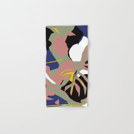 Abstracted Palm Hand & Bath Towel