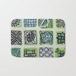 Watercolor Tile 5480 Bath Mat