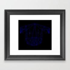 Space Tim  Framed Art Print