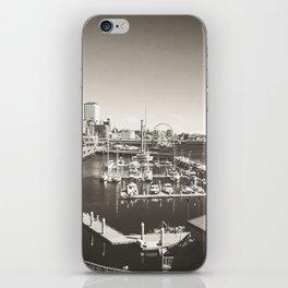 Gray Seattle iPhone Skin