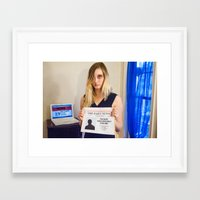 feminism Framed Art Prints featuring Feminism 2 by ❤ Tay ❤