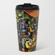 Superheroes Metal Travel Mug
