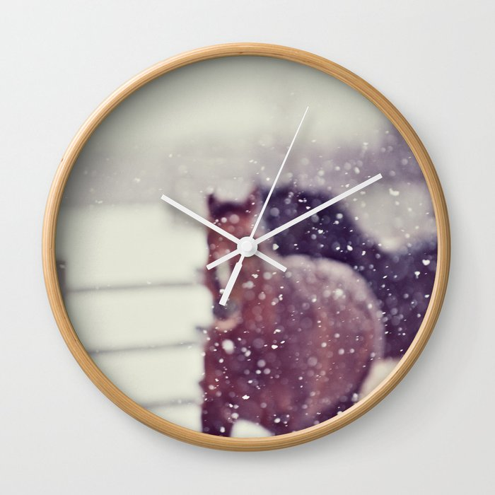 Dream with me Wall Clock