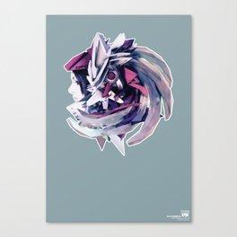 ELLE ROBOTO Canvas Print