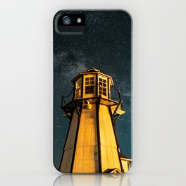 Mountain Light House Two iPhone Case