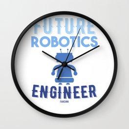 Robotic machine computer engineer Wall Clock