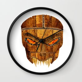 Buffy - Dead Man's Party Mask Wall Clock