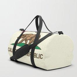 California Republic Flag Duffle Bag
