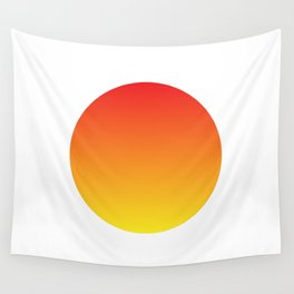 Abstract Sun Wall Tapestry