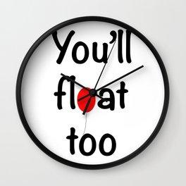 IT script fun Wall Clock