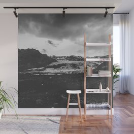 Ice giant - black and white landscape photography Wall Mural