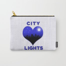 I Love City Lights Carry-All Pouch