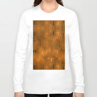 gold foil Long Sleeve T-shirts featuring Gold Foil 10 by Robin Curtiss
