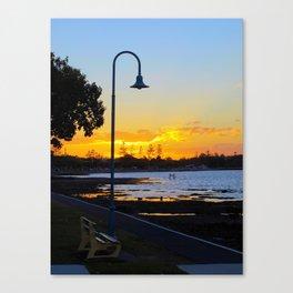 Wynnum Sunset Canvas Print