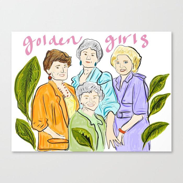 Golden Girls Leinwanddruck