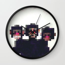 LOOK BEHIND YOU Wall Clock