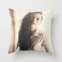 gypsy Throw Pillows featuring Gypsy by Josefina