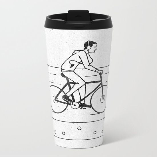 Welcome to Your Tape (Alternate Version) Metal Travel Mug