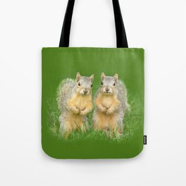 Squirrels-Brothers Tote Bag
