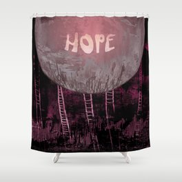 Hope, Climbing / Wonderful Planet 13-11-16 Shower Curtain