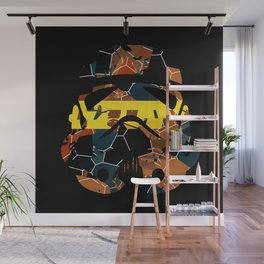 Stormtrooper Contrast Pattern Wall Mural