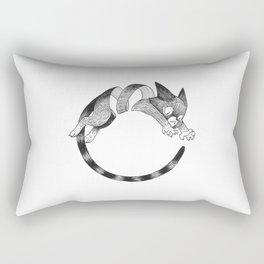 Cat Loop Rectangular Pillow
