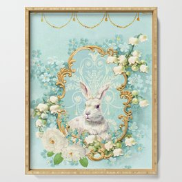 The White Rabbit Serving Tray