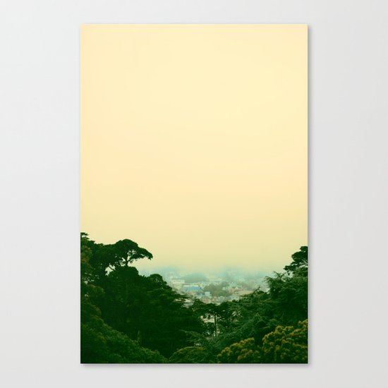 A Chance of Cloudy Weather Canvas Print