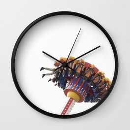 Summer Fun Upside Down Wall Clock