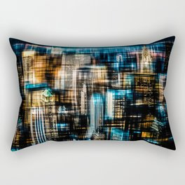 Downtown II Rectangular Pillow