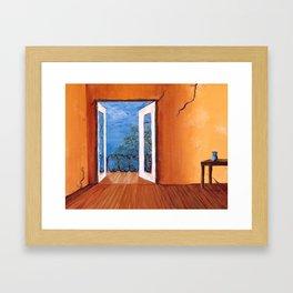 Barcelona Balcony Framed Art Print