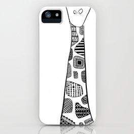 Standing Giraffe! iPhone Case