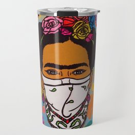 Viva La Frida! Travel Mug