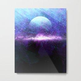 Moonrise Nebula Metal Print